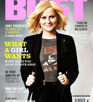 Amy Poehler, Dec-Jan BUST cover girl