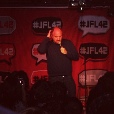 louisckcbar JFL42 final dispatches Pt. 1: Louis CK at the Sony Centre & Comedy Bar