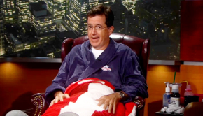 colbert bathrobe